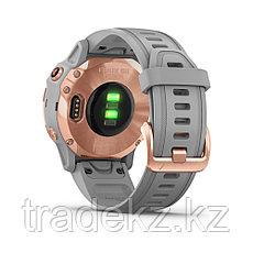 Часы с GPS навигатором Garmin fenix 6S Sapphire Rose Gold w/Gray Band (010-02159-21), фото 2