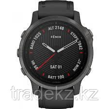 Часы с GPS навигатором Garmin fenix 6S Sapphire Carbon Grey DLC w/Blk Band (010-02159-25), фото 3