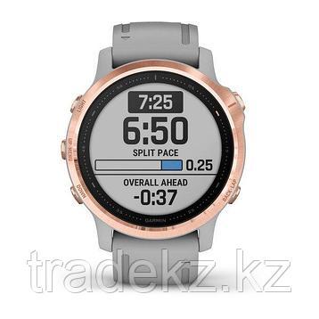 Часы с GPS навигатором Garmin fenix 6S Sapphire Rose Gold/Blk w/Nylon Band (010-02159-37), фото 2