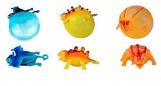 Надувная резиновая игрушка Динозавры антистресс