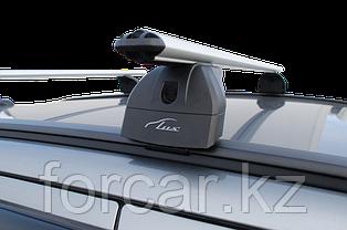 """Багажная система """"LUX"""" с дугами 1,2м аэро-классик (53мм) для а/м Toyota Fortuner 2015-... г.в. с интегр. рейл., фото 2"""