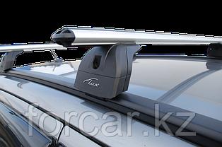 """Багажная система """"LUX"""" с дугами 1,2м аэро-классик (53мм) для а/м Toyota Fortuner 2015-... г.в. с интегр. рейл., фото 3"""