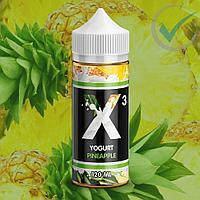 Жидкость для электронных сигарет X-3 Yogurt 120 мл 3 мг, фото 1