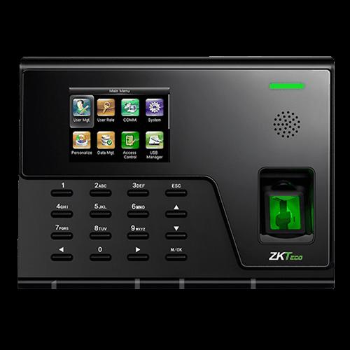 Биометрический терминал СКД и учета рабочего времени ZKTeco UA760