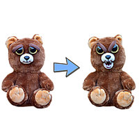 """Мягкая игрушка """"Feisty Pets"""" - Сэр Медведь, меняющий настроение"""