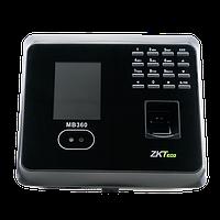Гибридный биометрический терминал СКД учета рабочего времени ZKTeco MB360, фото 1