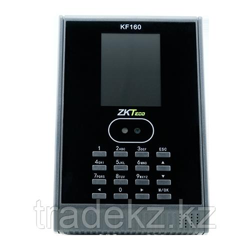 Гибридный биометрический терминал СКД учета рабочего времени ZKTeco KF160