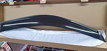 Ветровики (дефлекторы окон) на Toyota Land Cruiser Prado 150  на 4 двери- окна