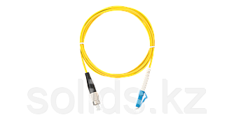 Шнур оптический переходной, SM 9/125 OS2, FC/UPC-LC/UPC, одинарный, LSZH, 2мм, желтый, 2м, шт