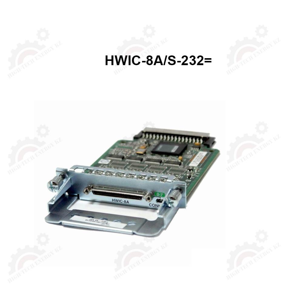 Модуль 8-Port Async / Sync Serial HWIC, EIA-232