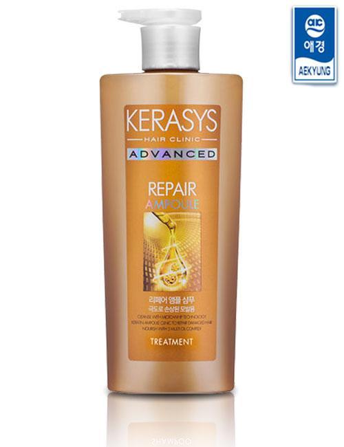 Бальзам для поврежденных для волос Kerasys Advanced Repair Ampoule Treatment 750 ml.
