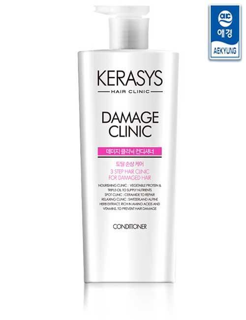 Кондиционер для волос Kerasys Damage Clinic Conditioner 750 ml.
