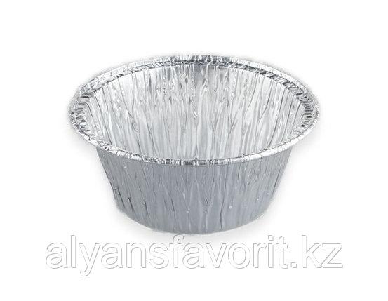 Алюминиевая форма круглая D 85, 130 мл. РФ, фото 2