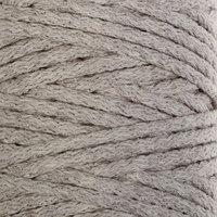 Шнур для вязания 'Пухлый' 100 хлопок ширина 5мм 100м (лен)