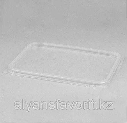 Крышка пластиковая к алюмминевому контейнеру 250 мл.114х89/84х59 мм. РФ, фото 2