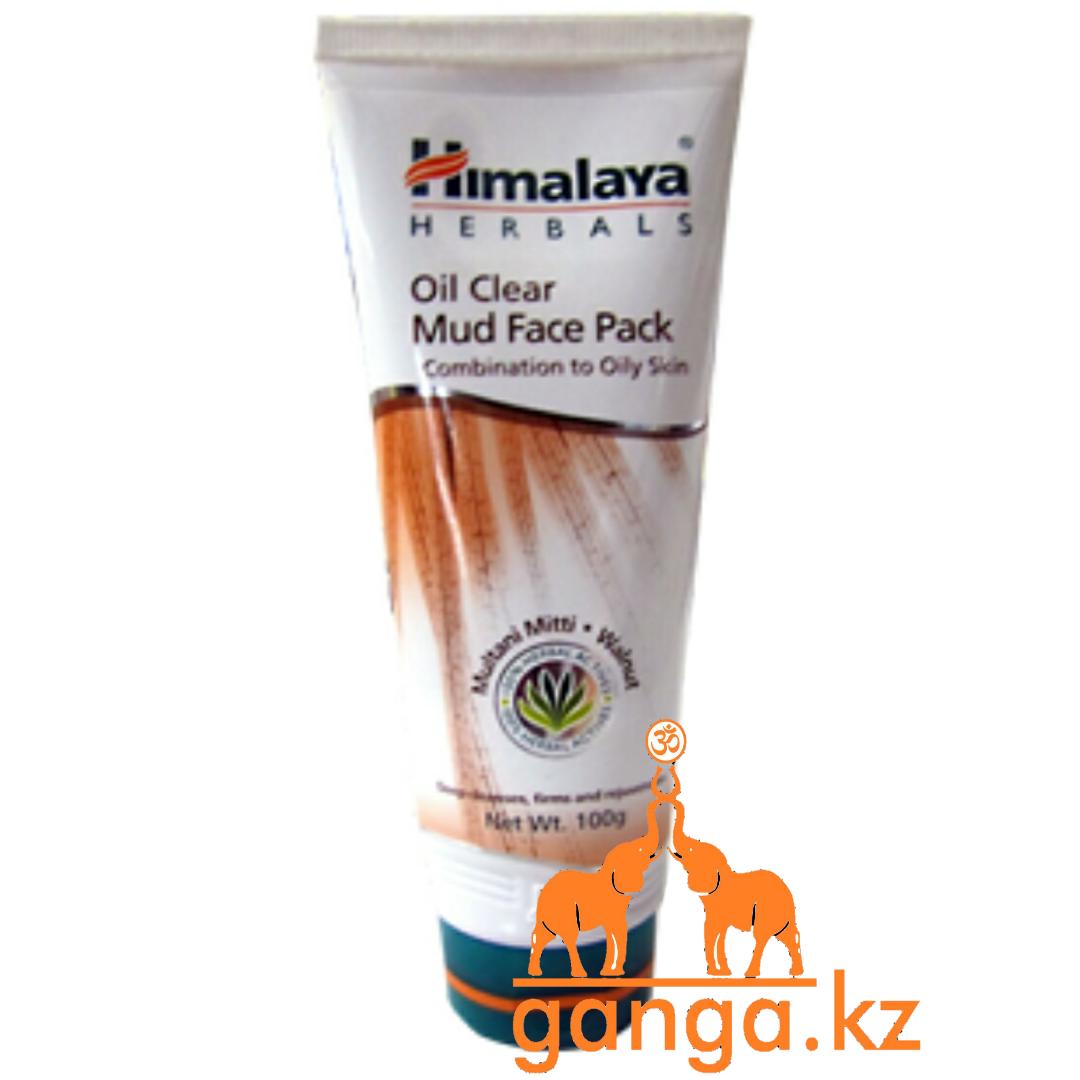 Очищающая маска лица с Минеральной Глиной и Грецким Орехом (Mud Face Pack HIMALAYA), 100 гр.