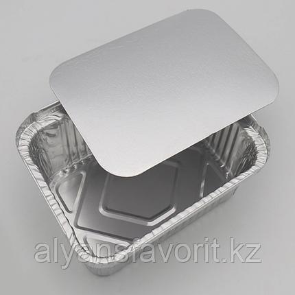 Крышка к алюмминевому контейнеру 123*98 мм / 260 мл. РФ, фото 2