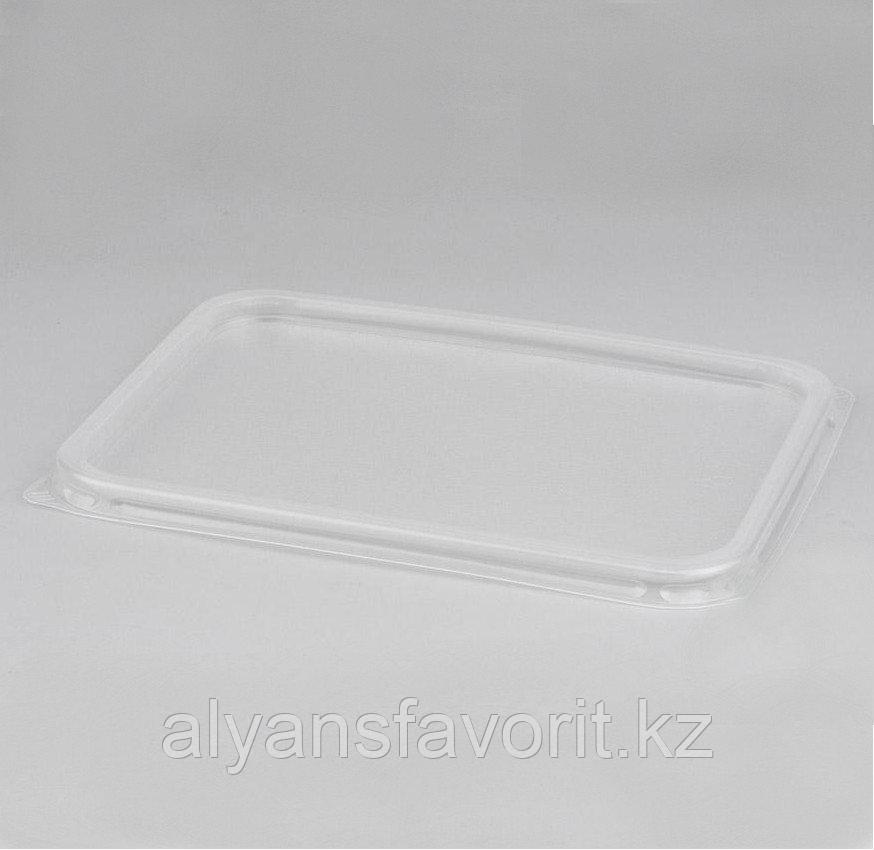 Крышка пластиковая к алюмминевому контейнеру 490 мл.144*119 мм.РФ