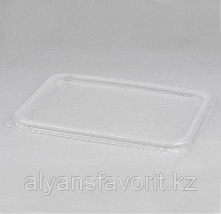 Крышка пластиковая к алюмминевому контейнеру 490 мл.144*119 мм.РФ, фото 2