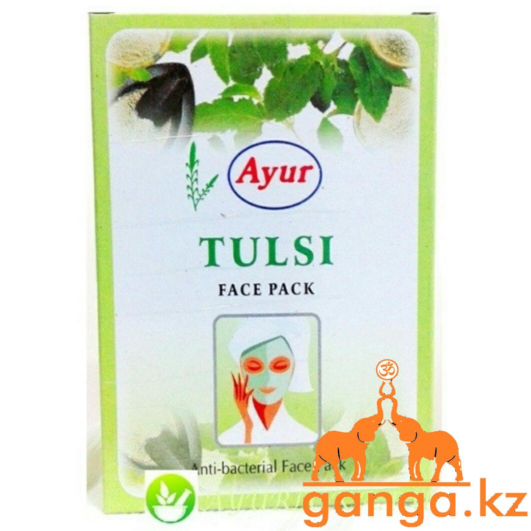 Натуральная маска для проблемной кожи лица Тулси ( Tulsi AYUR), 25 г.