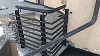 Ограждения уличные балконные