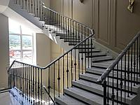 Перила лестничные металлические
