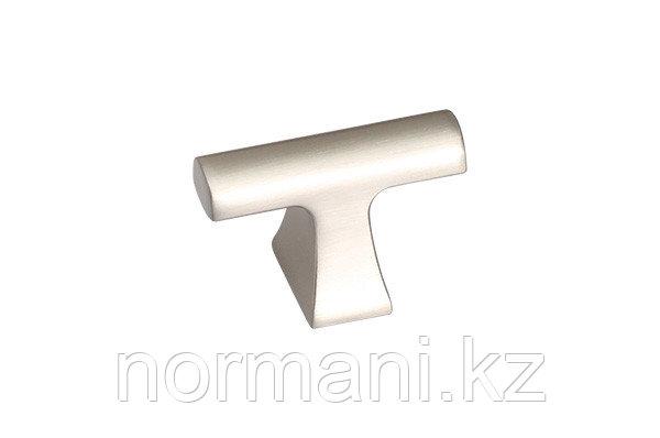Ручка-кнопка, отделка никель