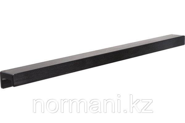 Ручка накладная L.350мм, отделка черный шлифованный