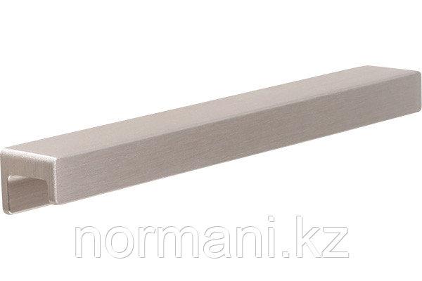 Ручка накладная L.190мм, отделка сталь шлифованная
