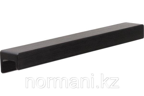 Ручка накладная L.190мм, отделка черный шлифованный