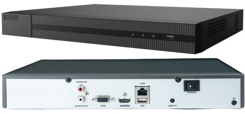 NVR-208MH-C - 8-ми канальный сетевой видеорегистратор с разрешением записи до 4К на канал, без PoE, с 2-мя SATA-интерфейсами.