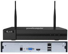 NVR-104MH-D/W - 4-х канальный сетевой видеорегистратор с внешними Wi-Fi-антеннами и с разрешением записи до 4MP на канал, без PoE.