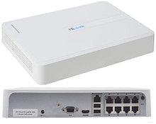 NVR-108H-D/8P - 8-ми канальный сетевой видеорегистратор с разрешением записи до 4MP на канал, с 8-ю PoE-портами.