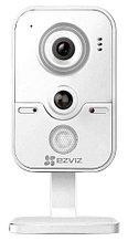 C2W - 1MP Внутренняя IP-камера с фиксированным объективом, встроенным Wi-Fi-модулем, дуплексным аудио и