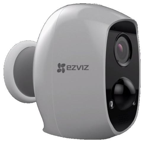 C3A - 2MP Уличная беспроводная IP-камера с фиксированным объективом, встроенным Wi-Fi-модулем, дуплексным аудио, ИК-подсветкой, PIR-детекцией и автоно