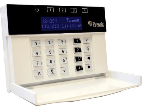 V2GSM - Контрольная GSM-панель системы охрано-пожарной сигнализации