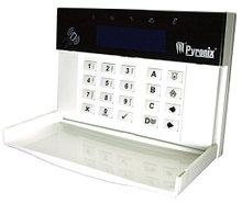 PCX-LCDP - Выносная клавиатура управления со встроенным считывателем бесконтактных карт для контрольных