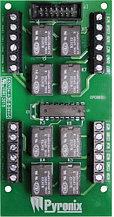 PCX-ATE8R - Модуль расширения программируемых логических выходов ATE PGM в сухие контакты реле для панели PCX.