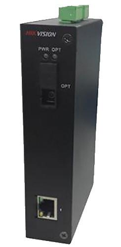 DS-3D201T-A - 1 канальный 1000M передатчик цифрового видео по оптоволокну.