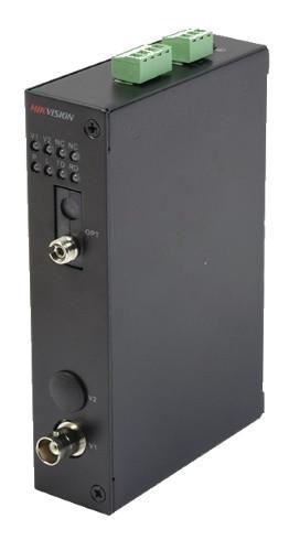 DS-3V01R-A/1080 - 1 канальный 1080р HD-TVI приемник цифрового видео по оптоволокну.