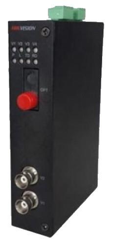 DS-3V02R-A/720 - 2-х канальный 720р HD-TVI приемник цифрового видео по оптоволокну.