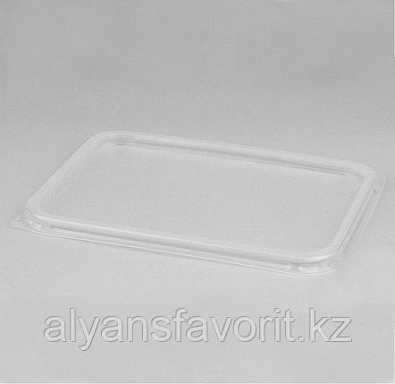 Крышка пластиковая к алюмминевому контейнеру 800 мл. 205*140 мм. РФ, фото 2