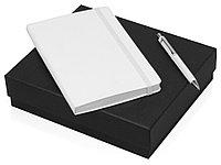 Подарочный набор Moleskine Hemingway с блокнотом А5 и ручкой, белый