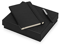 Подарочный набор Moleskine Picasso с блокнотом А5 и ручкой, черный