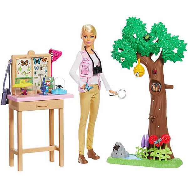 Mattel Barbie Барби Nat Geo Исследователь бабочек