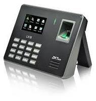 Биометрический терминал учета рабочего времени ZKTeco LX16, фото 1