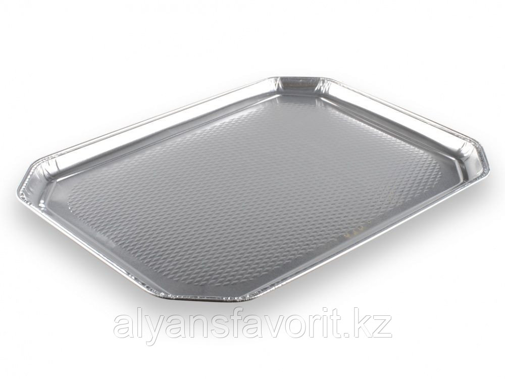 Блюдо из алюминиевой фольги 375х280 мм. РФ