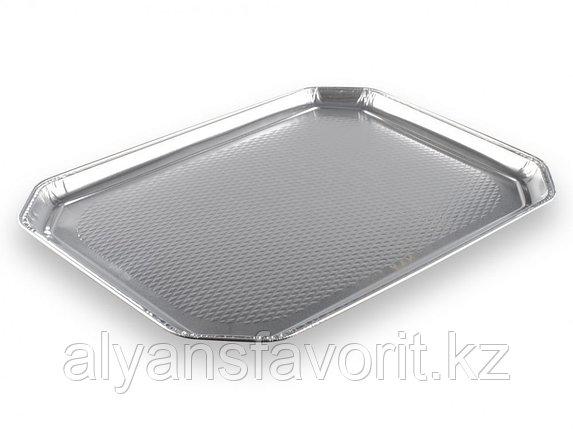 Блюдо из алюминиевой фольги 375х280 мм. РФ, фото 2