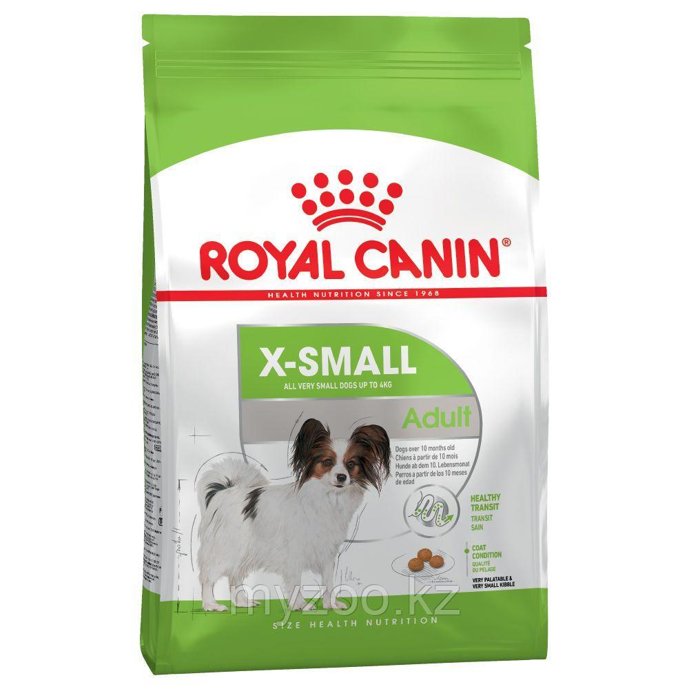 Royal Canin XSMALL ADULT, 1.5 kg Корм для взрослых собак мелких пород до 4 кг.