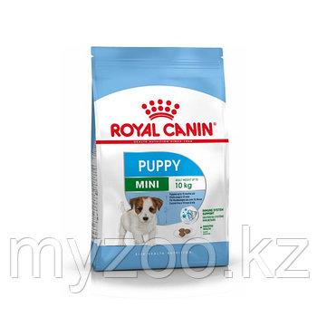 Royal Canin MINI PUPPY, 4 kg. Корм для щенков мелких пород до 10 кг.